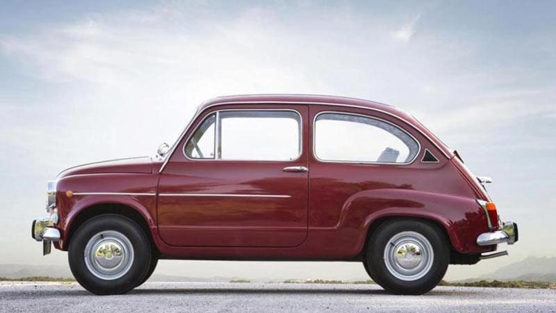 Seat 600 Rojo