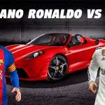 Duelo de superdeportivos: Cristiano Ronaldo vs Messi