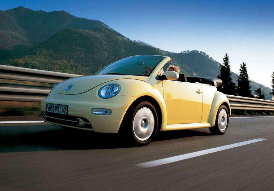 Volkswagen New Beetle, el escarabajo inconfundible