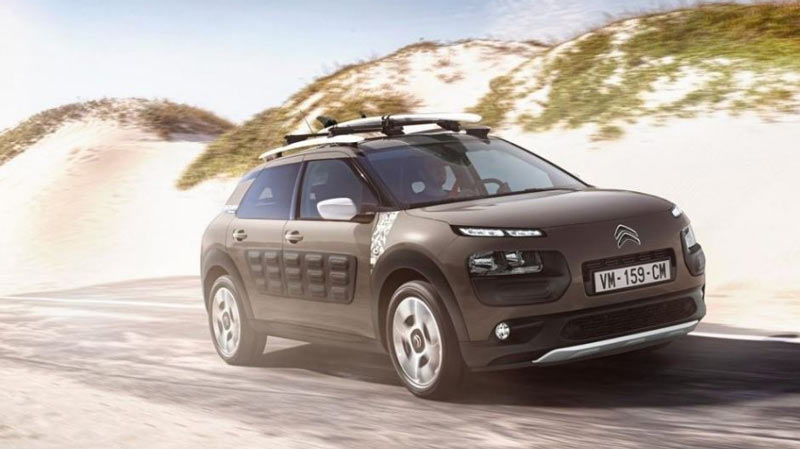Citroën Cactus, lateral