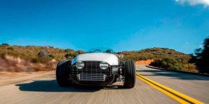 Vanderhall Edison2 el vehículo eléctrico de tres ruedas