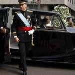 Los coches del Rey Felipe VI