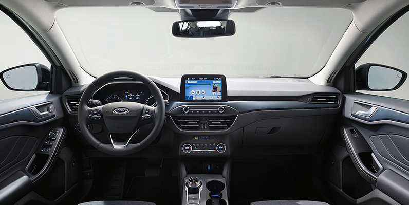 Ford Focus 2018, interior