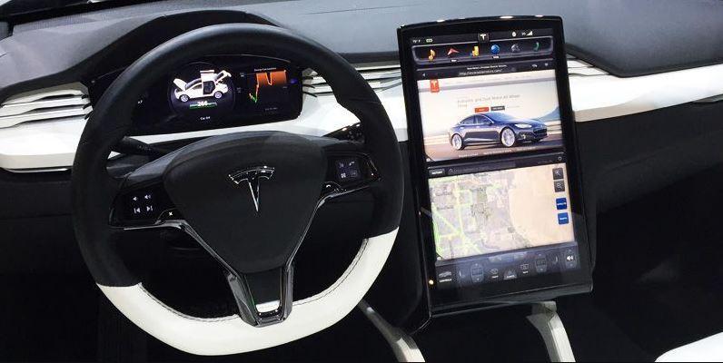 Tesla Model X, interior