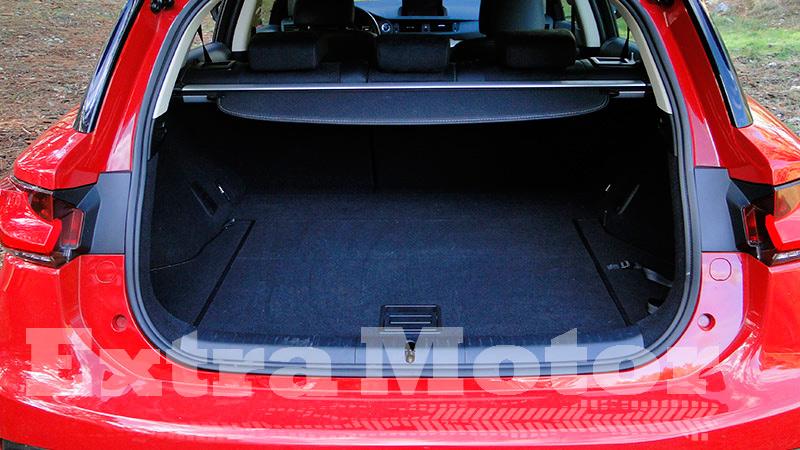 Prueba Lexus CT 200h, maletero