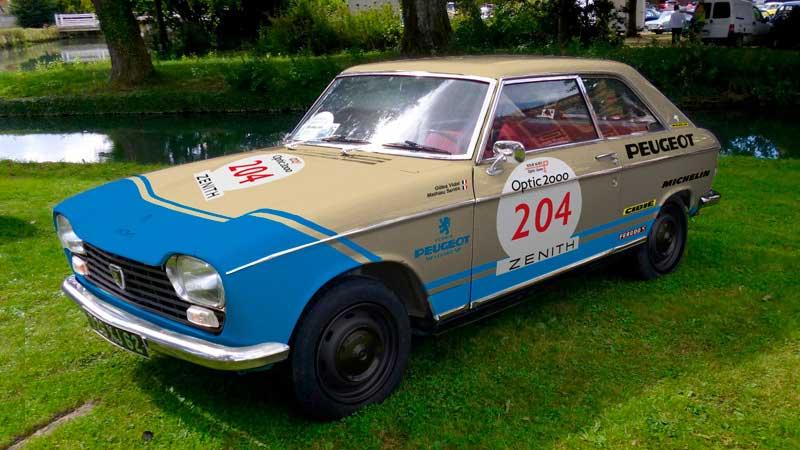 Peugeot en Retromobile, 204 Coupé
