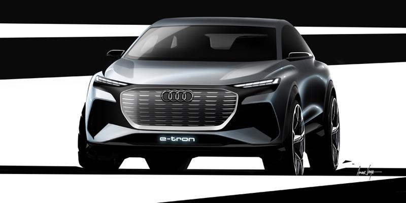 Audi Q4 e-tron concept, portada