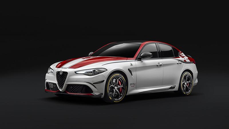 Salón de Ginebra 2019, Alfa Romeo Racing Giulia Quadrifoglio