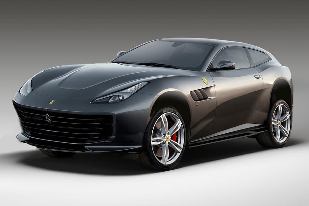 Proyecto SUV de Ferrari